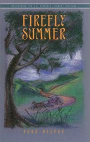 Cover of: Firefly Summer (Recovering the U.S. Hispanic Literary Heritage) | Pura Belpre