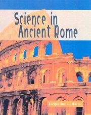 Cover of: Science in Ancient Rome (Science of the Past) | Jacqueline Harris
