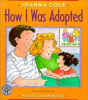 Cover of: How I Was Adopted by Joanna Cole