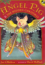 Cover of: Angel Pig and the Hidden Christmas | Jan Waldron