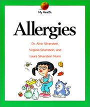 Cover of: Allergies (My Health) | Alvin Silverstein