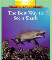 Cover of: Best Way to See a Shark | Allan Fowler