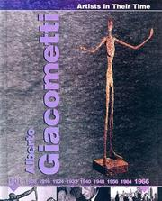 Cover of: Alberto Giacometti (Artists in Their Time) by Jackie Gaff
