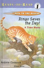 Cover of: Ringo Saves the Day | Andrew Clements