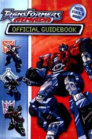 Cover of: Transformers Armada Official Guidebook (Transformers Armada) | Michael Teitelbaum