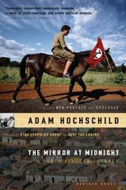 Cover of: The Mirror at Midnight by Adam Hochschild
