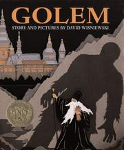 Cover of: Golem by David Wisniewski