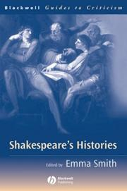 Cover of: Shakespeare's Histories | Emma Smith