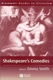 Cover of: Shakespeare's Comedies | Emma Smith