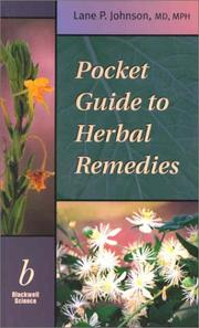 Cover of: Pocket Guide to Herbal Remedies by Lane P. Johnson