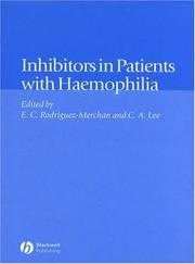 Cover of: Inhibitors in Patients with Hemophilia | Christine Lee
