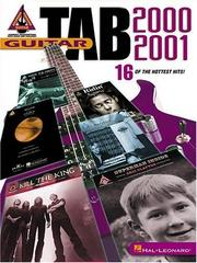 Cover of: Guitar Tab 2000-2001 | Various Artists