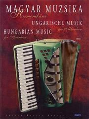 Cover of: Hungarian Music for Accordion by Gabor Vas
