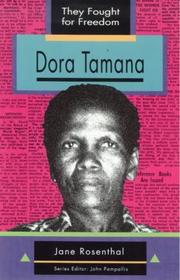 Cover of: Dora Tamana | Jane Rosenthal