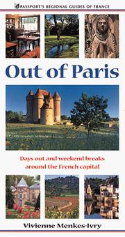 Cover of: Out of Paris | Vivienne Menkis-Ivry