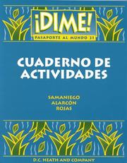 Cover of: Dime! by Alarcon Samandiego