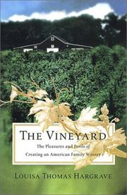 Cover of: The Vineyard | Louisa Hargrave, Louisa Thomas Hargrave