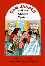 Cover of: Cam Jansen and the ghostly mystery | David A. Adler