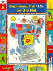 Cover of: Exploring the U.S. on the Net | Cynthia G. Adams