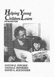 Cover of: Helping young children learn by Evelyn Goodenough Pitcher