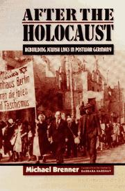 Cover of: After the Holocaust | Michael Brenner