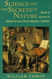 Cover of: Science and the secrets of nature | William Eamon