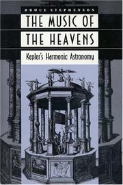 Cover of: The music of the heavens by Bruce Stephenson