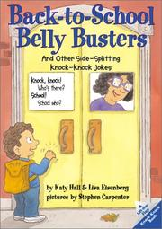 Cover of: Back-to-school belly busters | Katy Hall