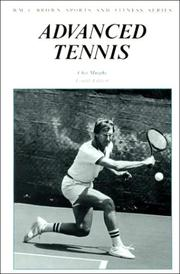 Cover of: Advanced tennis by Chet Murphy