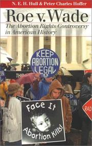 Cover of: Roe v. Wade by N. E. H. Hull