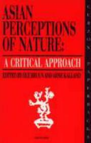 Cover of: Asian Perceptions of Nature by Ole Bruun