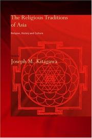 Cover of: Religious Traditions of Asia | J. Kitagawa