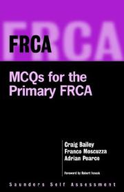 Cover of: FRCA by Craig R. Bailey