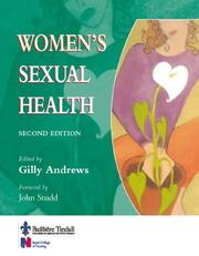 Cover of: Women's Sexual Health | Gilly Andrews