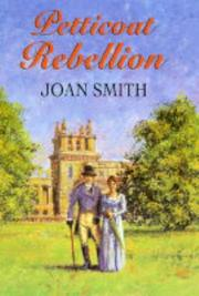Cover of: Petticoat Rebellion by Joan Smith