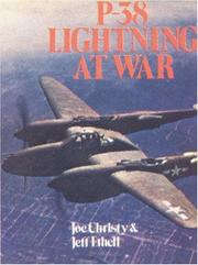 Cover of: P-38 Lightning at war by Joe Christy