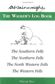 Cover of: The Walker's Log Book Volume 2 by Alfred Wainwright