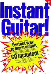 Cover of: INSTANT GUITAR by PAT CONWAY