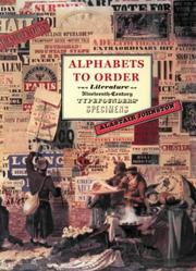 Cover of: Alphabets to order by Alastair Johnston