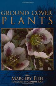 Cover of: Ground cover plants | Margery Fish