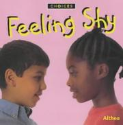 "Cover of: Feeling Shy (Choices) | ""Althea"""