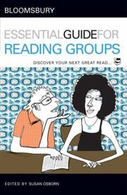 Cover of: Bloomsbury Essential Guide for Reading Groups | Susan Osborne