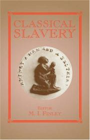 Cover of: Classical slavery |