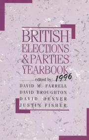 Cover of: British Elections and Parties Yearbook by David Farrell