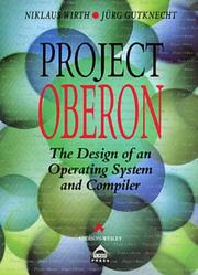 Cover of: Project Oberon by Niklaus Wirth
