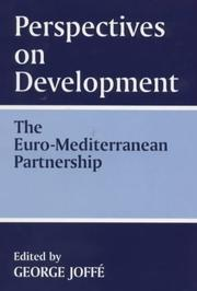 Cover of: Perspectives on Development: the Euro-Mediterranean Partnership | George Joffe