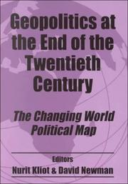 Cover of: Geopolitics at the End of the Twentieth Century | Nurit Kliot