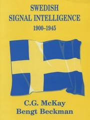 Cover of: Swedish Signal Intelligence 1900-1945 | Bengt Beckman