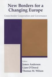 Cover of: New Borders for a Changing Europe | James Anderson