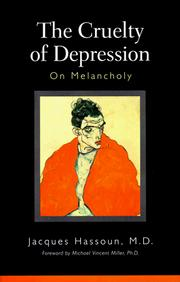 Cover of: The cruelty of depression by Jacques Hassoun